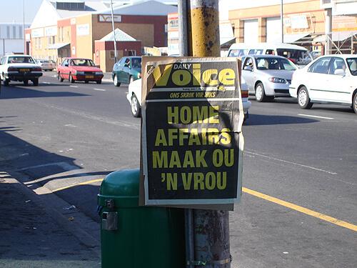 Daily Voice Headline Poster: 1 June 2007