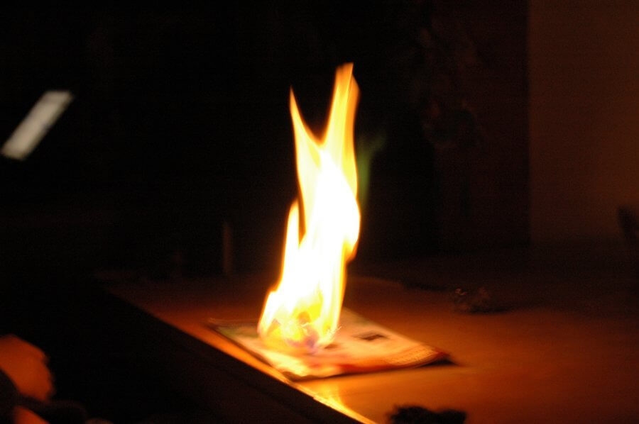 burned-paper